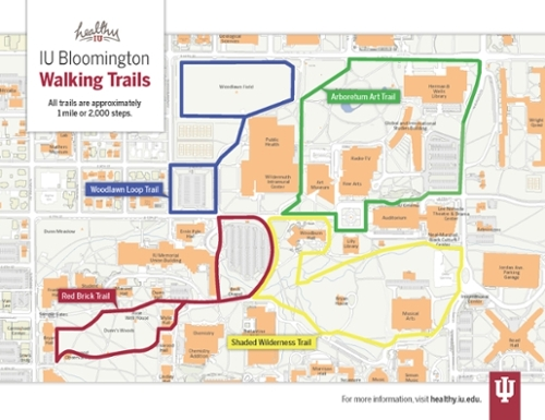 Iu Bloomington Map Walking Trails